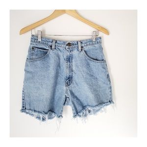 Vintage Bass High Waisted Mom Cutoff Shorts